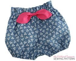 paper bag toddler shorts pattern bloomer pattern pdf high waisted bloomer pattern paper bag bloomer