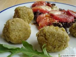 cuisiner une aubergine boulette à l aubergine recette végétarienne recette de cuisine