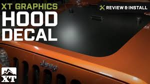 mountain jeep decals jeep wrangler xt graphics hood decal 2007 2016 jk review