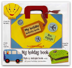 Holiday Crafts For Kids Easy - holiday trip scrapbook suitcase for kids part 1 craft ideas