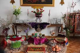 Iranian New Year Table Decoration by Happy Iranian New Year Sorasound