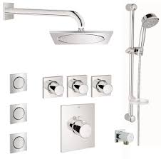 Hansgrohe Shower Valve Grohe Gss Grohtherm Fcth 08 000 Starlight Chrome Grohtherm F