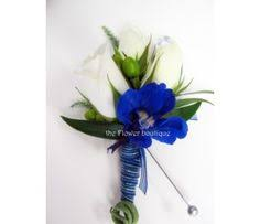 royal blue boutonniere orchid boutonniere lime green royal blue wedding boutonnieres mens