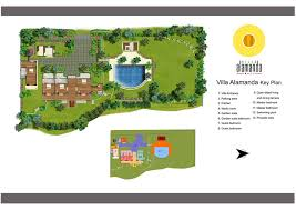 floorplan villa alamanda u2013 ubud 4 bedroom luxury villa bali