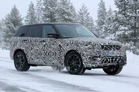 land rover camo spied updated 2018 land rover range rover sport in the snow