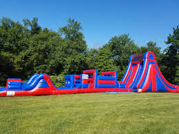 rent a bounce house in naugatuck ct obstacle course water slides
