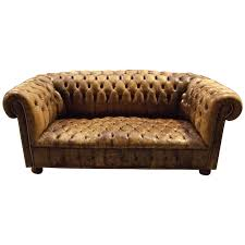 Vintage Leather Chesterfield Sofa Vintage Leather Chesterfield Sofa For Sale At 1stdibs