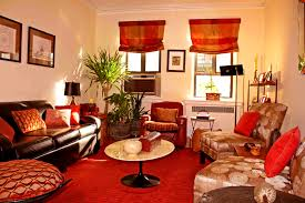 furniture attractive orange eclectic living room rooms dod