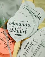 fan shaped wedding programs 11 wedding program fans to keep guests cool martha stewart weddings