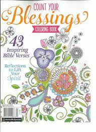 amazon com count your blessings coloring book summer 2016 43