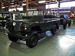land rover 1970 file 1970 land rover series 2a lwb ceremonial vehicle with gun