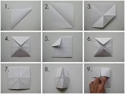 my handmade home tutorial origami fortune teller crafts and