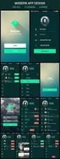 House Rules Design App 36 Best Ui App Design Images On Pinterest Flat Design Mobile Ui