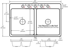 Kitchen Sink Width Kitchen Simple Kitchen Sink Width With Standard Size Gallery And