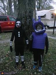 Cool Kids Halloween Costumes Marionette U0026 Withered Bonnie Kids Halloween Costume