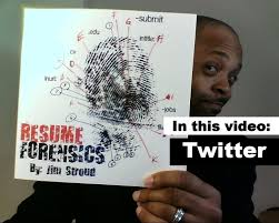 Online Resume Submit by How To Find Candidates With Twitter Resume Forensics Youtube