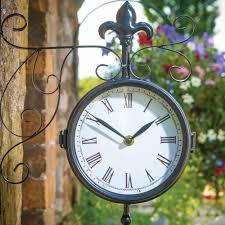 outdoor wall clock designs med art home design posters