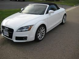 2012 audi tt convertible sell used 2012 audi tt roadster convertible white 2 0t awd in