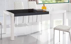 dining room expandable dining table set in white for modern