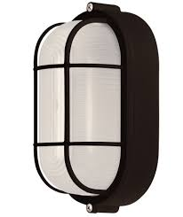 Bulkhead Outdoor Lights Canarm Iol16bk Flush Mount Light Lantern Oval Bulkhead Marine