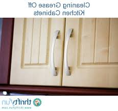 cleaning grease off kitchen cabinets how to clean grease off kitchen cabinets kenangorgun com best