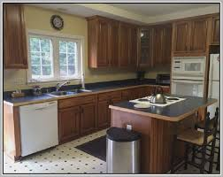 how to refinish oak kitchen cabinets resurface kitchen cabinets remix insider refinishing oak kitchen