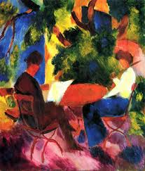 back to august macke paintings