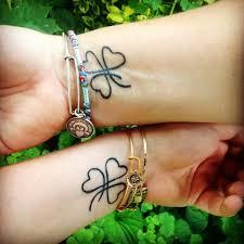 cool mother daughter matching tattoos