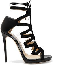 jimmy choo dani pvc lace up sandals buy online designer ankle
