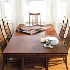 custom dining room table pads interior design