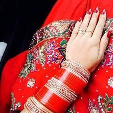 punjabi wedding chura bridal chura bridalchura instagram photos and