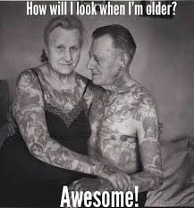 Tatto Meme - funny best old man tattoo meme images quotesbae