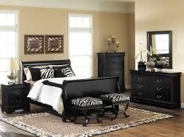 black bedroom sets for classic and simple look the new way home