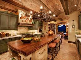 Country Home Interior Ideas Modern Home Interior Design Mediterranan Kitchen Brick Wall