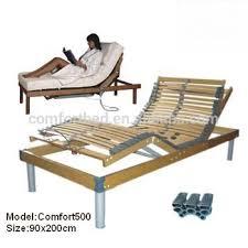 Slat Frame Bed 5 Zones Wooden Slats Adjustable Bed Frame Bed Adjustbale Bed Buy
