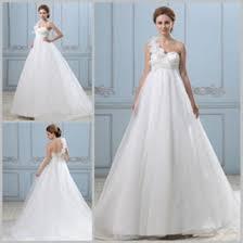 high waist wedding dress distributors of discount high waist maternity wedding gowns 2017