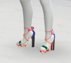 greenapple18r christian louboutin sandals