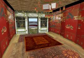 Japanese Temple Interior Second Life Marketplace Djwmedia Japanese Temple