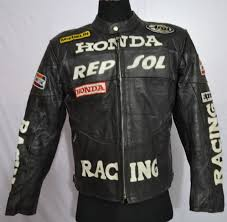 leather racing jacket honda motorbike leather jacket vintage brands guru please visit