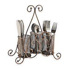 Silverware Caddy For Buffet by The Boston Warehouse At Your Service Napkin And Flatware Caddy