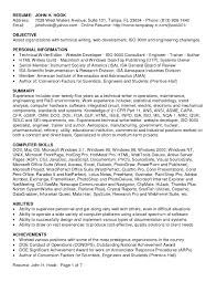 resume writing objective statement technical writer resume objective example technical resume for it technical writer resume objective example technical resume for it manager aviation resume writing service breakupus lovely