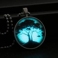 glow in the necklaces glow in the tree of pendant shoplifo