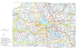 Map Of Wisconsin by Wisconsin County Bicycle Maps
