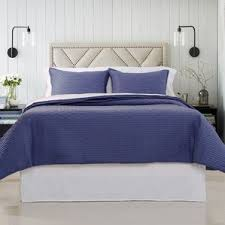 Blue Quilted Coverlet Polyester Quilts U0026 Coverlets You U0027ll Love Wayfair