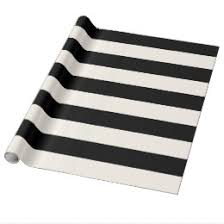 black and white striped wrapping paper black and white stripes wrapping paper zazzle