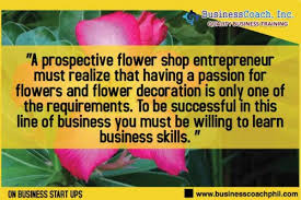 Flowershop Starting A Flower Shop Business Business Seminars By