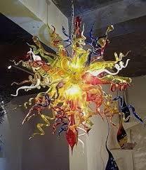 Sunburst Chandelier Multi Color Chandelier Foter