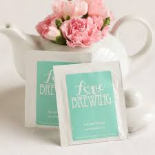 personalized wedding gift bags wedding favor personalized tea bags a wedding cake