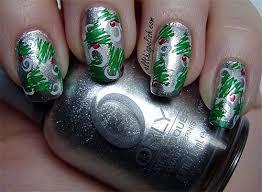 simple u0026 easy christmas tree nail art designs u0026 ideas 2013 2014