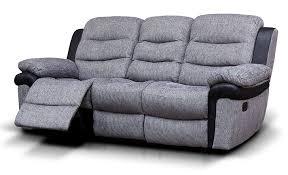 Fabric 3 Seater Recliner Sofa